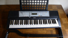 Yamaha YPT-200 Midi Keyboard with stand and power pack Good Condition