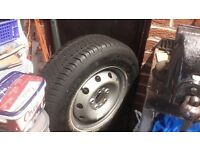 spare car and van wheels plus tyres as new