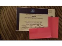 Steps Concert Tickets x2 at O2 24/11/17