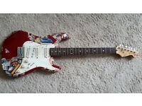Red Squire Stratocaster