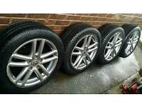"Genuine SPEEDLINE alloys 19"" Tuareg Q7 Cayman Cayenne Sprinter G class Maxi comecial New Pirelli"