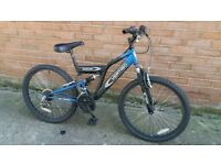 "Vertigo Rockface 18 Gears 24"" Wheels Dual Suspention Mountain Bike Forsale"
