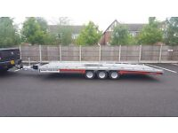 **** hire** Brand new Brian James T6 Car Transporter Trailer 3500 kg gross 5.5m x 2.07m bed *sale**
