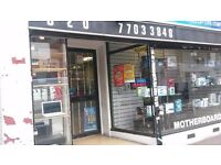 BIG SHOP IN BIG MAIN ROAD AND BUSY AREA TO LET