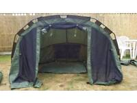 Carp fishing gear bivvy/tent Nash brolly dome with overwrap/winter skin not titan, groundhog or fox