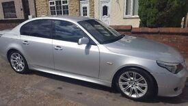 BMW 525 M sport. 3 ltr diesel automatic 5door
