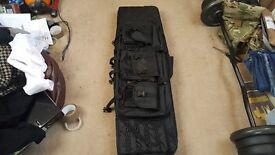 Gun bag carrier