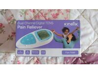 DUAL CHANNEL DIGITAL TENS PAIN RELIEVER