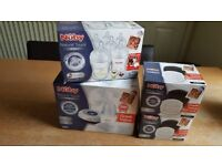 Nuby natural touch digital breast pump.