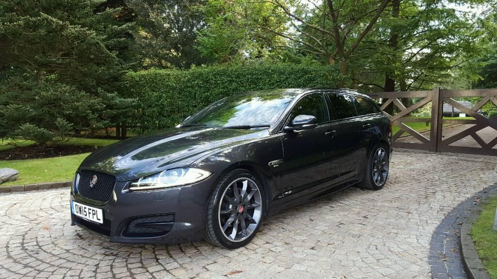 2015 jaguar xf r sport black 2 2td sportbrake xenons sat nav reverse camera meridan sound. Black Bedroom Furniture Sets. Home Design Ideas
