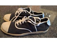 DANIELE ALESSANDRINI HOMME as new in leather was £140 only £18!!!! SIZE 43,5