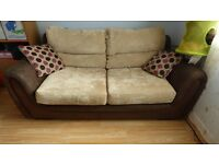 Moreno Large 2 Seater Fabric Sofabed