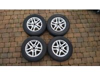 BMW X5 Winter Tyres and Alloys 235/65/R17