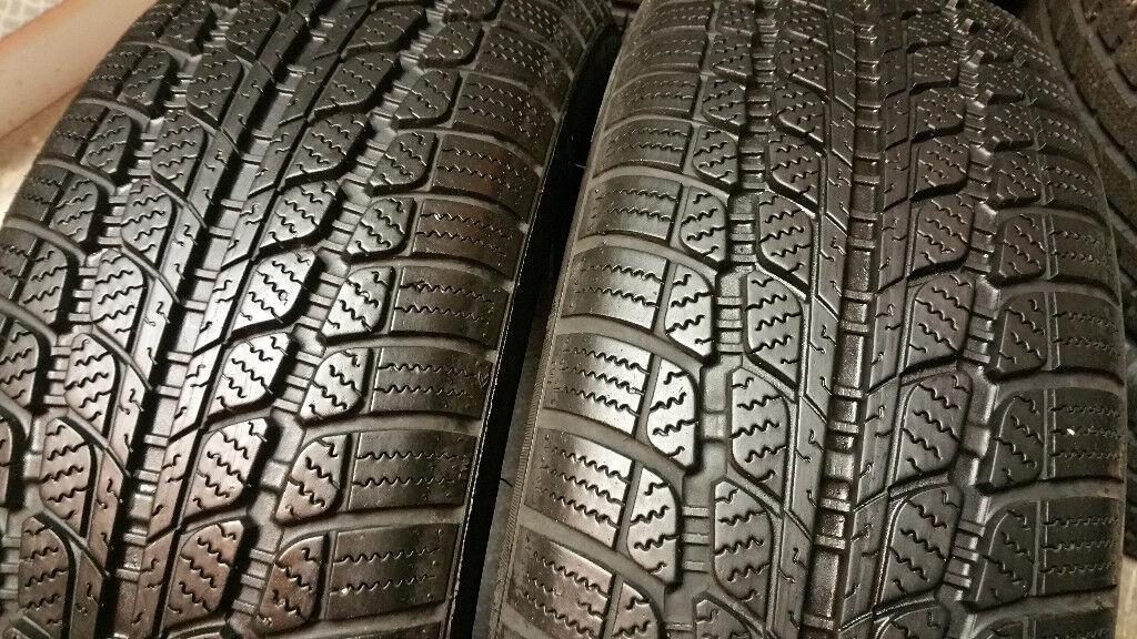 195 55 16 2 x tyres Sunny Snow Master M+S