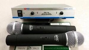 Power Pro 2-Piece VHF Wireless Mic Set