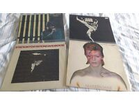 DAVID BOWIE- THE MAN WHO SOLD THE WORLD - ALADDIN SANE - STATION TO STATION - STAGE-ALL 4 FOR £50