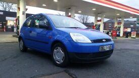 2003 ford fiesta 1.2 petrol manual with long mot till October 2021 £600
