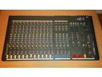 Soundcraft Spirit Folio 4 20 Channel Mixing Desk
