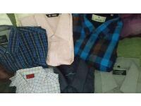 MENS SHIRTS BUNDLE boxed x good shirts