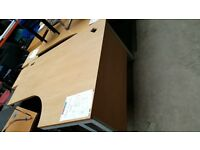 Right Hand Corner Desk Light Top