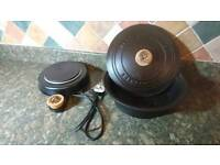 RRP £175 Netherton Foundry Slow Cooker Cast Iron Pot Electric Base Oak Handles