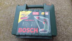 BOSCH cordless screwdriver/drill Lithium battery