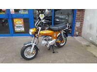 SKYTEAM SKYMAX 125 BRAND NEW £1099 +OTR FEE Honda / Dax monkey bike replica