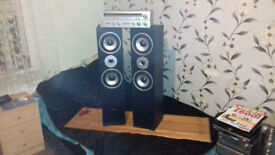 Amplifier/Tower Speakers