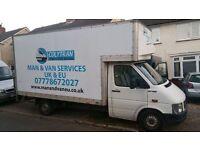 MAN AND VAN, REMOVALS / EXPRESS DELIVERIES ( UK & EUROPE & INTERNATIONAL )