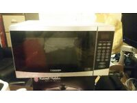 Cookworks, silver,Microwave oven