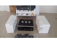 Behringer USB interface brand new