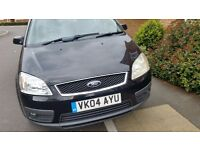Ford cmax 12months mot service history cheap on fuel and tax big boot for family tidy cd £775ono