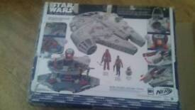 Star wars ship with figures