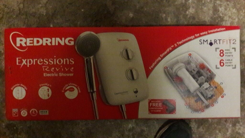 Redring Expressions Revive Electric Shower 9.5kW BRAND NEW