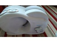 Electric meat slicer used twice