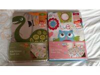 Brand-new Boys & Girls junior quilt cover sets
