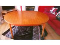 G Plan, 1980's Dining table.
