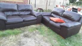 sofa leader Brown for sale call 07577171766
