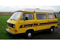 SOLD VW T25 Campervan Camper Motorhome SOLD