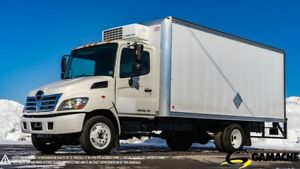 2010 HINO 185 REEFER TRUCK THERMO-KING