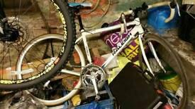 Jamies full suspension mountain bike