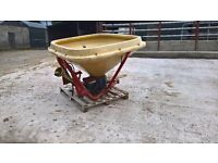 FARM MACHINERY 3f Plough, Generator, Buckrake and Fertilizer spreader