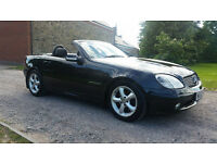 2003 MERCEDES SLK 230 KOMPRESSOR AUTO - 2 LADY OWNERS FOR THE LAST 13 YEARS - SERVICE HISTORY -