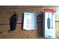 Canon TC-80N3 Intervalometer Timer Remote Control, Brand New