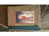 Antique Peter Pan picture book. 1911