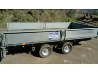Ifor williams 2000kg gross twin axle trailer lt126