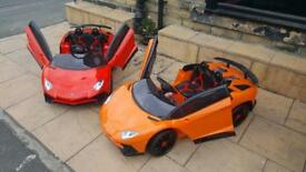 Lamborgini Roadster SV In 5 Colours, Parental Remote & Self Drive, (Bradford)