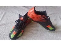 Adidas Messi 15.4 Football Boots. Black/Red/Green