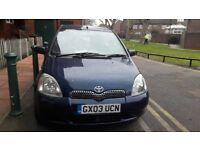 Toyota yaris automatic, low mileage (59200 miles),nearly full service history, hpi clear