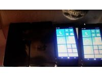 Windows phone joblot nokia lumia 2x 650 lte 2x 635